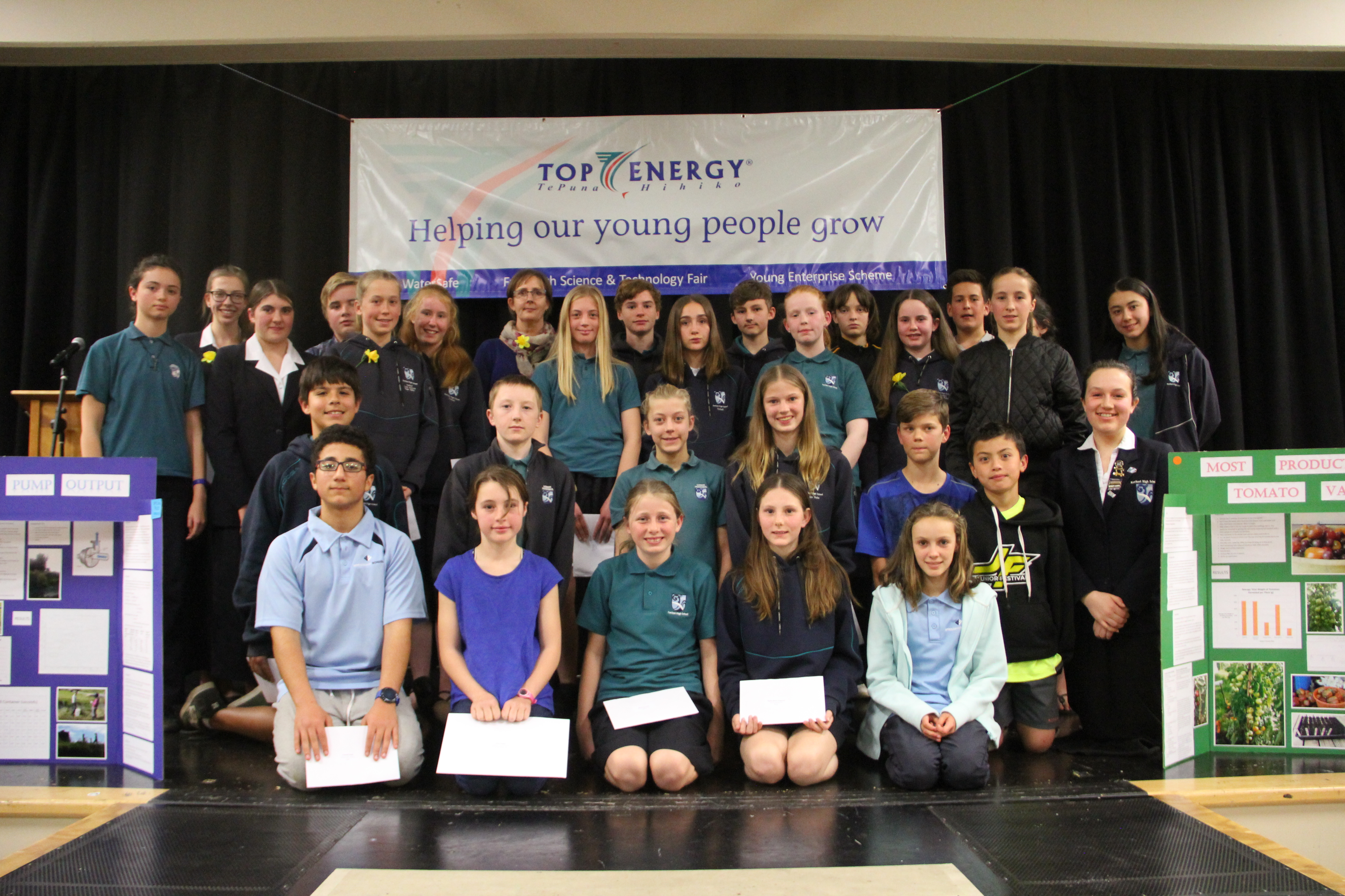 Science Fair 2019 Top Energy prize winners